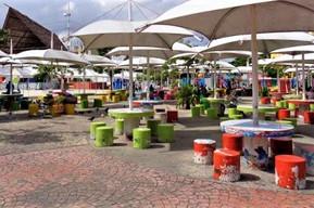 メキシコ カンクン パラパス公園