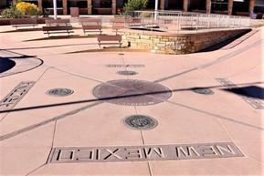 アメリカ アリゾナ フォーコーナーズ(四重境界点記念碑)