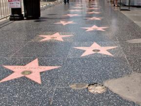 アメリカ ロサンゼルス ハリウッド・ウォーク・オブ・フェイム