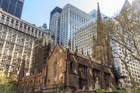 アメリカ ニューヨーク トリニティ教会
