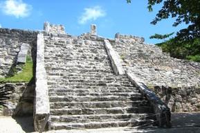 メキシコ カンクン サン・ミゲリート遺跡