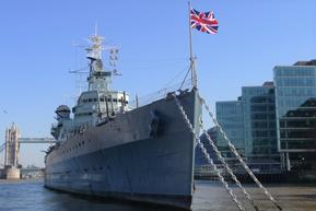イギリス ロンドン HMSベルファスト号