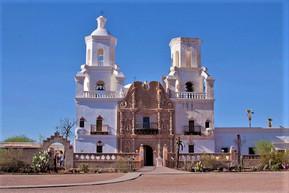 アメリカ アリゾナ サン・ザビエル伝道教会