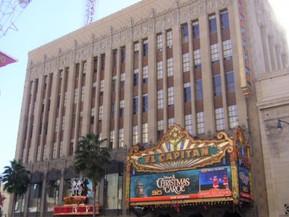 アメリカ ロサンゼルス エル・キャピタン劇場