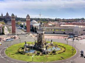 スペイン バルセロナ エスパーニャ広場