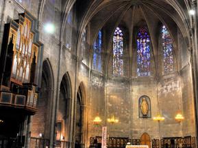 スペイン バルセロナ サンタ・マリア・ダル・ピ教会