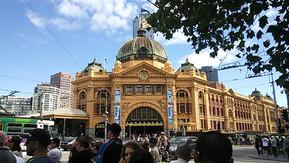オーストラリア メルボルン フリンダースストリート駅
