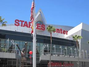 アメリカ ロサンゼルス ステイプルズ・センター