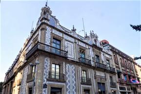 メキシコ メキシコシティ タイルの家