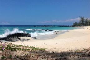 ハワイ ハワイ島 マカラウェナ・ビーチ