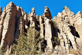 アメリカ アリゾナ チリカワ国定公園