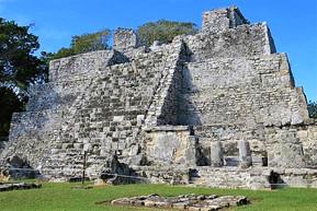 メキシコ カンクン エル・メコ遺跡