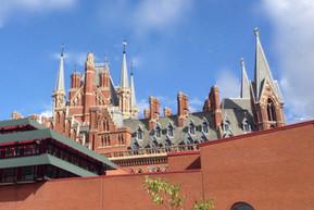 イギリス ロンドン 大英図書館