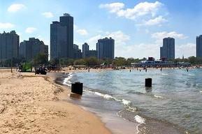 アメリカ シカゴ ノース・アベニュー・ビーチ
