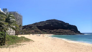 ハワイ オアフ島 マカハ・ビーチ・パーク