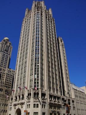 アメリカ シカゴ トリビューンタワー