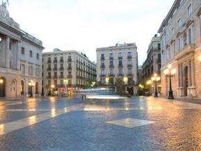 スペイン バルセロナ サン・ジャウマ広場