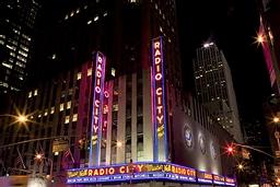 アメリカ ニューヨーク ラジオシティ・ミュージックホール