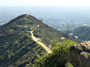 アメリカ ロサンゼルス ラニヨン・キャニオン・パーク