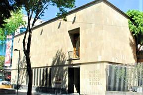 メキシコ メキシコシティ ディエゴ・リベラ壁画館