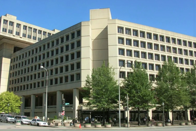 アメリカ ワシントンDC 連邦捜査局本部