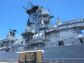 アメリカ ロサンゼルス 戦艦アイオワ博物館