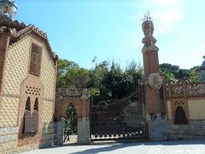 スペイン バルセロナ グエル別邸