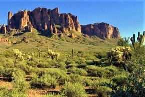 アメリカ アリゾナ ロスト・ダッチマン州立公園