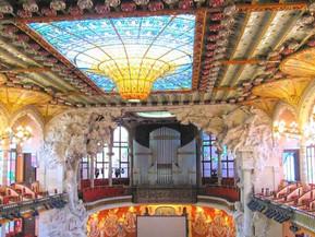 スペイン バルセロナ カタルーニャ音楽堂:魅力・見どころ・アクセス方法・見学ツアーチケットの予約方法まで徹底ナビ!