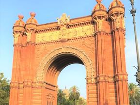 スペイン バルセロナ バルセロナ凱旋門