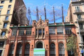スペイン バルセロナ アントニ・タピエス基金博物館