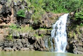 ハワイ オアフ島 ワイメア渓谷