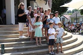 Messe Verabschiedung Stiege Kinder