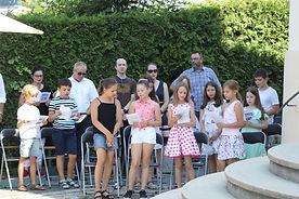 Messe Verabschiedung Kinder