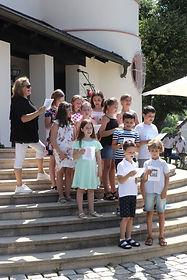 Messe Verabschiedung Schüler Stiege
