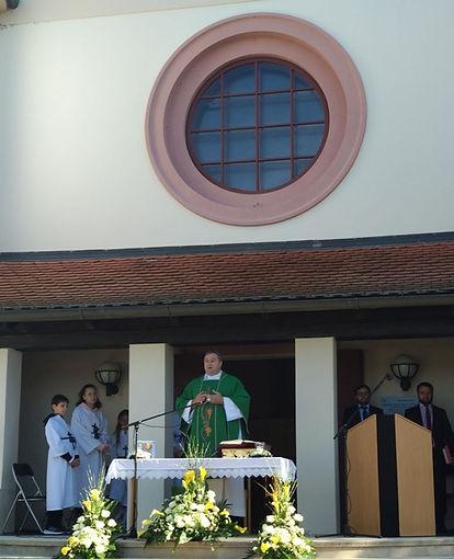 Kirchenjubiläum Pfarrer