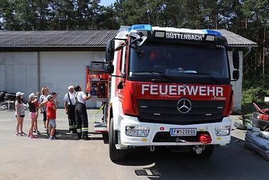 Feuerwehrauto außen