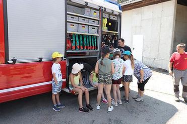 Feuerwehrauto Funktionen