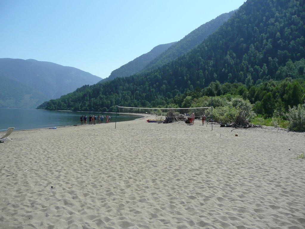 Максимальная ширина пляжа