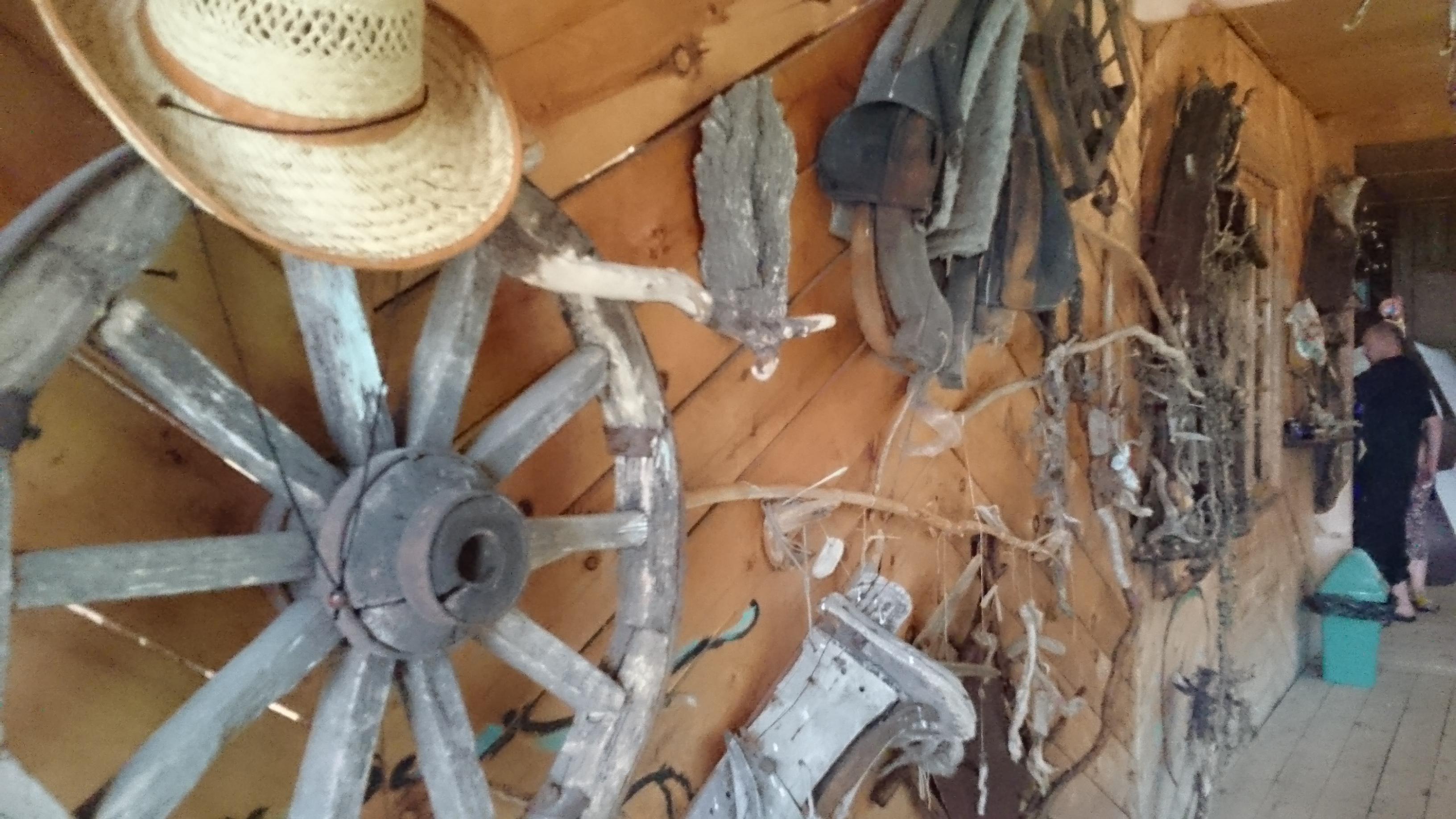 Выставка утвари и предметов быта