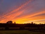 Sunset on Valor Farm