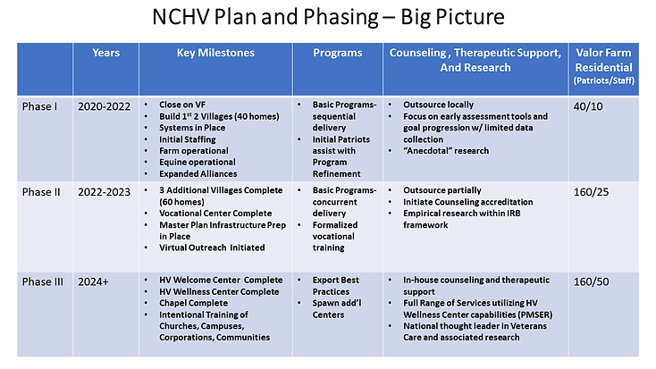 NCHV Plan and Phasing  Big Picture (004)