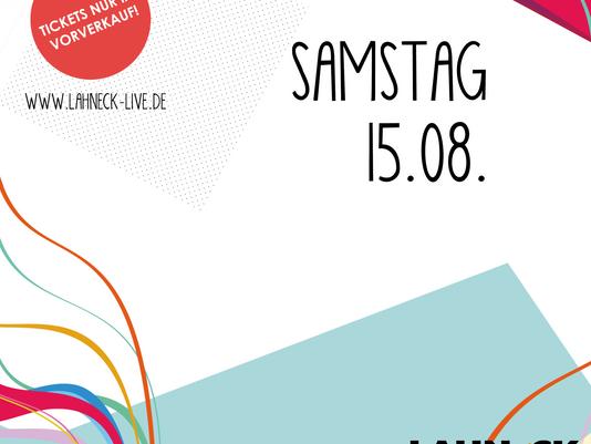 LINE-UP • SAMSTAG 15.08.2020