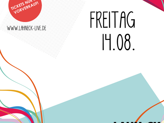 LINE-UP • FREITAG 14.08.2020