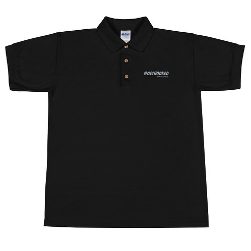 Get Hooked Embroidered Polo Shirt