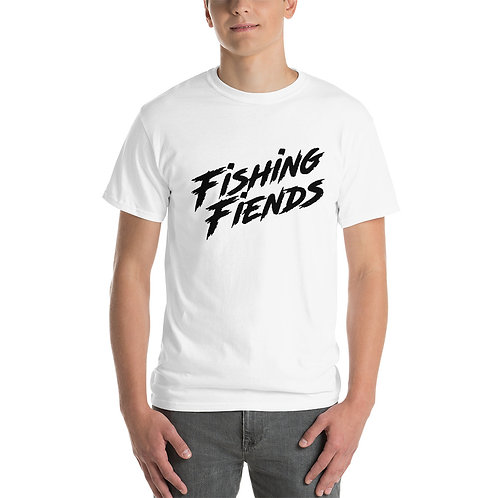 Fishing Fiends Black Logo Short Sleeve T-Shirt