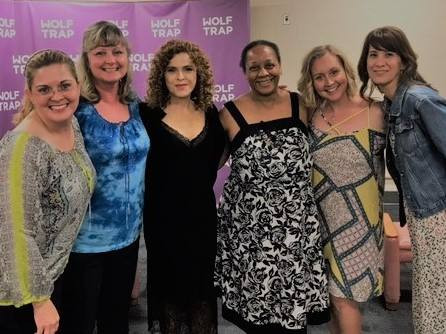 Wolf Trap Meet and Greet with Bernadette Peters 2017