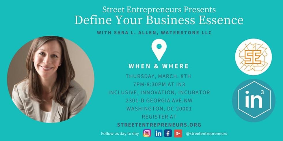 Define your Business Essence