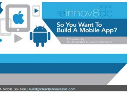 Clearly Innovative Inc - Mobile Application Workshop SlideShare No.1