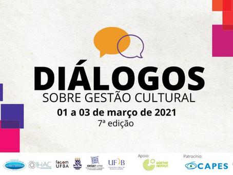 AGENDA UFBA - CICLO DE DEBATES SOBRE GESTÃO CULTURAL ACONTECE EM MARÇO